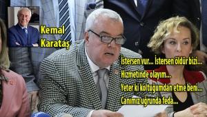 KEMAL KARATAŞ, İLÇE BAŞKANLARININ KONGRELERDE VERDİĞİ SOSYAL DEMOKRAT MÜCADELELERİNİ YAZDI...