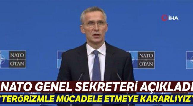 """NATO Genel Sekreteri Stoltenberg: """"Birlikte terörizmle mücadele etmeye kararlıyız"""""""