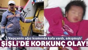 Şişli'de çöp konteynerinde yeni doğmuş bebek bulan işçi konuştu