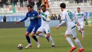 TFF 1. Lig: BB Erzurumspor: 2 - Bursaspor: 1