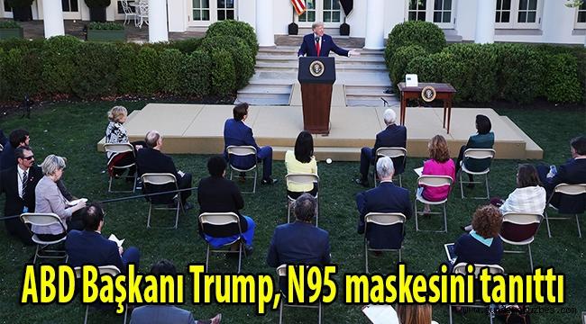 ABD Başkanı Trump, N95 maskesini dezenfekte eden cihazı tanıttı