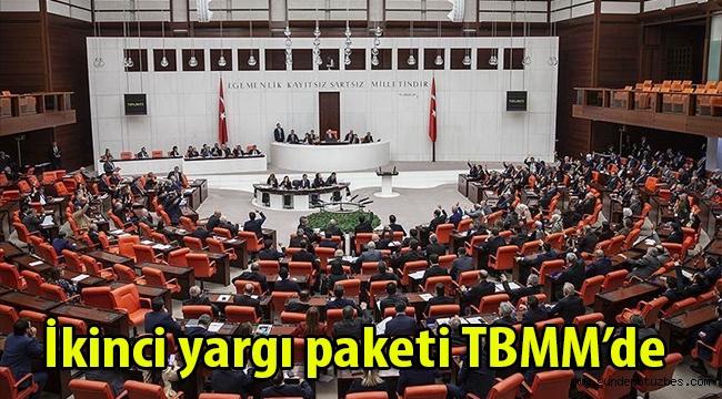 İkinci yargı paketi TBMM'de