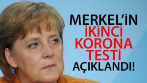 Merkel'in ikinci korona testi negatif çıktı