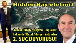 Avukat Tarcan Ülük'ten İzmir Büyükşehir Belediye Başkanı Tunç Soyer hakkında 2. suç duyurusu!