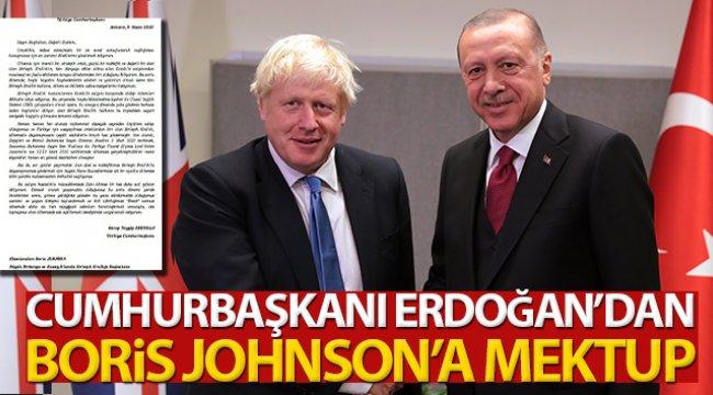 Cumhurbaşkanı Erdoğan, Birleşik Krallık Başbakanı Johnson'a mektup gönderdi