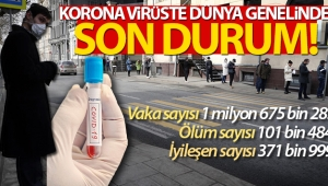 Dünyada korona virüse bağlı ölümler 100 bini aştı