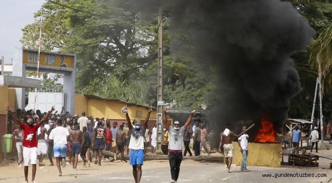 Fildişi Sahilleri'nde Covid-19 test merkezi tepkiye neden oldu