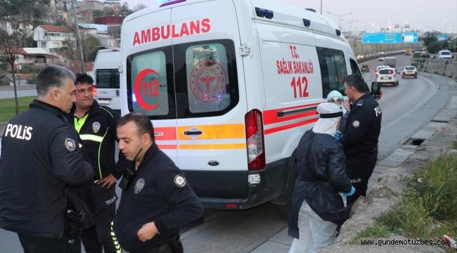 İzmir'de ambulans kaçıran şüpheli kovalamaca sonucu yakalandı