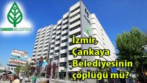 İzmir'deki CHP'li belediyelerde kaç tane menşei Çankaya belediyesi olan personel çalışıyor?