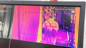 İzmirlilerin ateşi termal kameralarla ölçülüyor