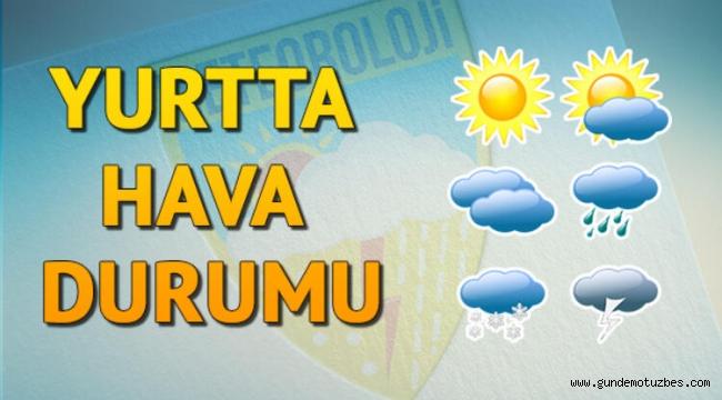 Meteoroloji uyardı: Türkiye'nin tamamı sağanak yağışlı