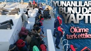 Yunanistan Sahil Güvenlik ekipleri 26 sığınmacıyı ölüme terk etti