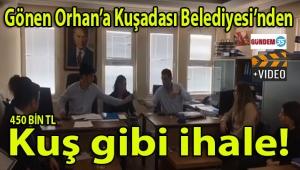 Eyvah! Gönen Orhan, Kuşadası Belediyesinde tek başına girdiği 458 bin liralık hizmet alım ihalesinden 13 bin lira zararla çıktı... (Video Haber)
