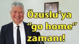 İzmir Büyükşehir Belediyesi Başkan Vekili Mustafa Özuslu'ya ev yolu mu göründü?