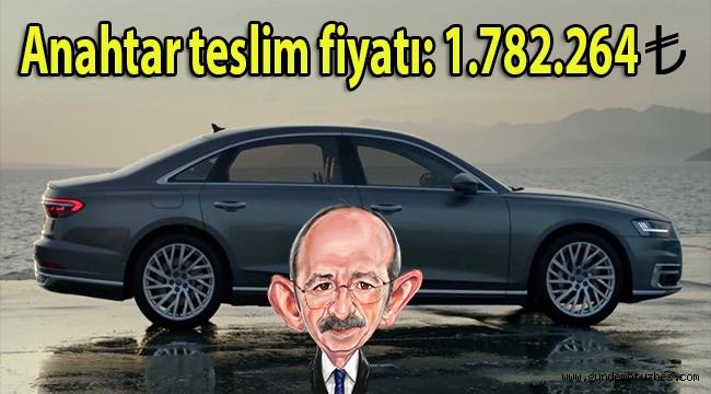 Kılıçdaroğlu'nun bir sorunu daha çözüldü! Anahtar teslim fiyatı 1 milyon 782 bin liralık yeni makam arabası...