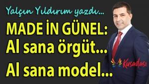 """KUŞADASI BELEDİYESİ'NDE """"ÖRGÜT"""" MODELİ.."""