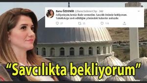 Son Dakika: Camilerde 'Çav Bella' şarksının çalınması kapsamında gözaltına alınan Banu Özdemir'den: Savcılıkta bekliyorum...