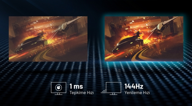 """144Hz'li Yeni Excalibur 27"" oyun monitörü satışta"
