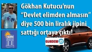 Didim belediyesinde ŞOK gelişme! Memur Gökhan Kutucu'nun haberimizden sonra 'Devlet elimden almasın' diye 500 bin liralık jipini sattığı ortaya çıktı...