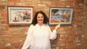 Rölyef sanatçısı Neşe Kalınbacak, 7'nci kişisel 'tarım ve insan' sanal sergisini açtı