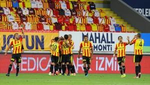 Süper Lig: Göztepe: 3 - Aytemiz Alanyaspor: 3