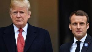 Trump ve Macron'dan kritik Libya görüşmesi