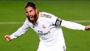 71. golünü atan Sergio Ramos, Ronaldinho ve Diego Costa'yı solladı!