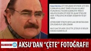 AYDIN E. BELEDİYE BAŞKANI HÜSEYİN AKSU'DAN 'ÇETE' FOTOĞRAFI!