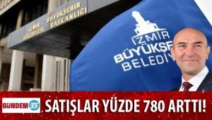 Büyükşehir'de satışlar yüzde 780 arttı!