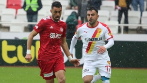 Göztepe ile Sivasspor 16. randevuda