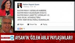HAŞMET AYSAN'IN GEÇMİŞTE DE BAŞKAN ÇERÇİOĞLU'NU YERE GÖĞE SIĞDIRAMADIĞI PAYLAŞIMLARI ORTAYA ÇIKTI!