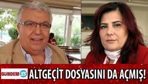 HAŞMET AYSAN, ÖZLEM ÇERÇİOĞLU'NUN ÜST GEÇİDİNİN ÜSTÜNDEN GİRİP ALTINDAN ÇIKMIŞ!