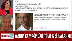 HAŞMET AYSAN 'ULAN O..PU' YAZISINA BAKIN NASIL SAHİP ÇIKIYOR!