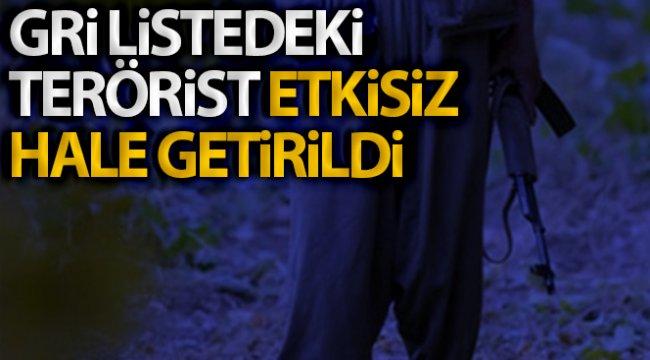 İçişleri Bakanlığı: 'Gri listedeki Hejar kod adlı Halis Eroğlu, Erzurum'da etkisiz hale getirildi'
