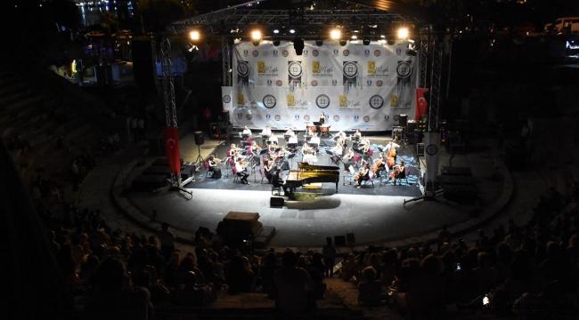 İdil Biret, Bodrum'da konser verdi