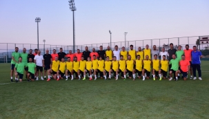 Manisa FK'nın Antalya kampı başladı