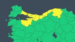 Meteoroloji'den 9 iliçin 'sarı' uyarı