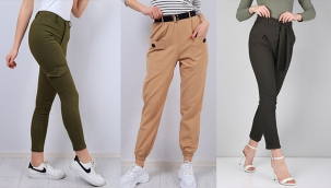 Rahat bayan pantolonları