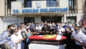 Aksan'a Konak Belediyesinde son veda