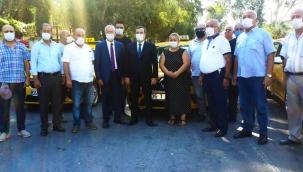 Batur, taksici esnafını yalnız bırakmadı