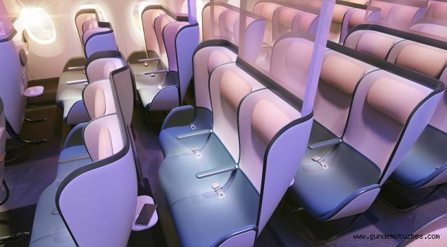 İngiliz tasarımcılardan 'koronavirüsü öldüren' yeni uçak koltukları