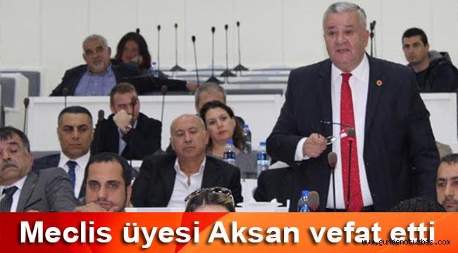 Konak belediyesi meclis üyesi Cem Aksan vefat etti