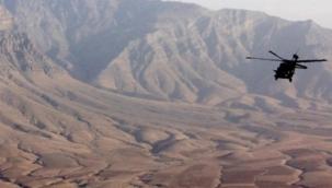 Afganistan'da askeri helikopter düştü: 2 ölü