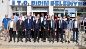 CHP'li Torun, Didim Belediye Başkanı Atabay'ı ziyaret etti