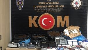 Muğla'da gümrük kaçakçılığı ve sahtecilik operasyonunda bir zanlı tutuklandı