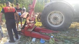 Muğla'da kolunu silaj makinesine kaptıran çiftçi, ağır yaralandı