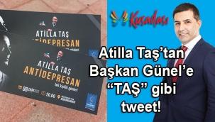 Atilla Taş'ın tek kişilik oyunu iptal edilince; CHP de Kuşadası belediyesi de nasibine düşeni aldı!