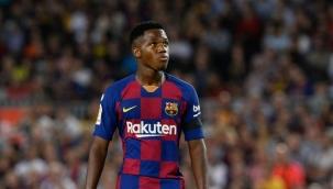 Barcelonalı futbolcu Ansu Fati için ırkçı benzetme