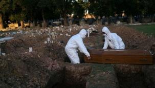 Brezilya'da 24 saatte koronadan 497 kişi öldü