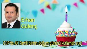 CHP'de AK Partili birinin doğum gününü kutlamak suç!